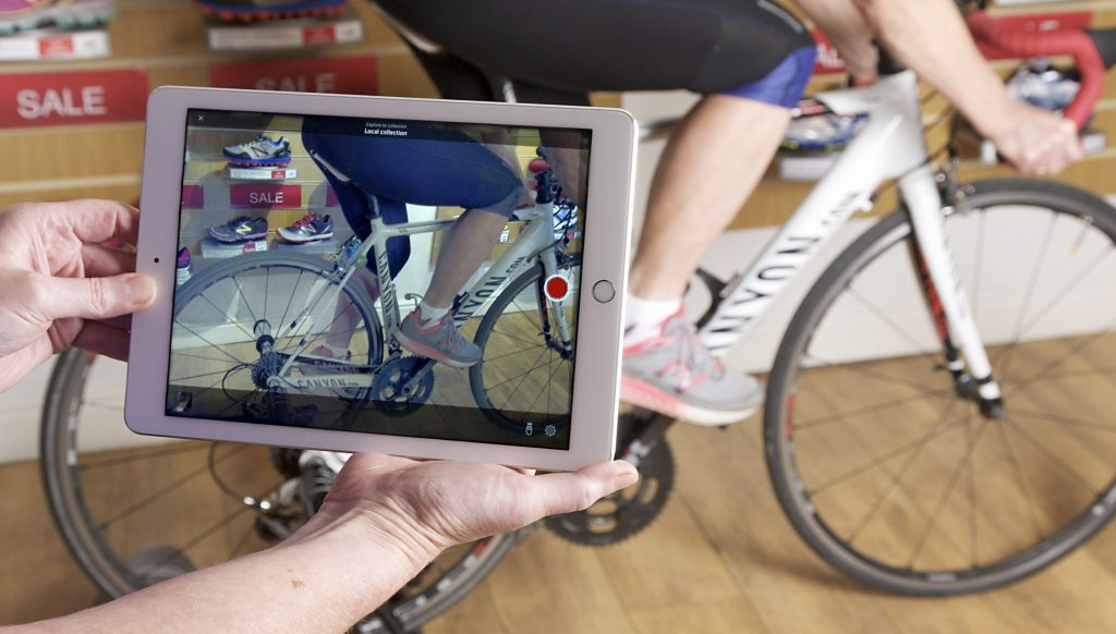 Bike fit, video analysis