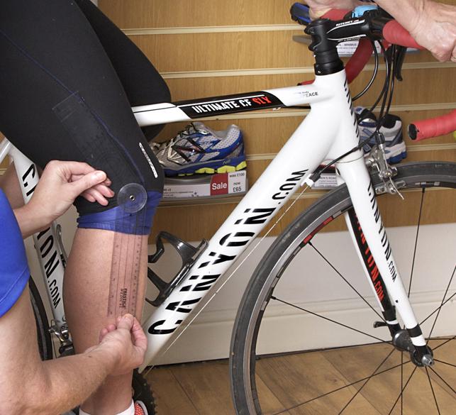 Bike fit, static measurement
